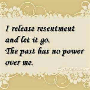 release resentment