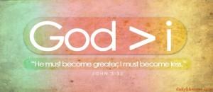 God more I less