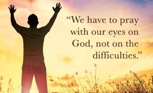 eyes on God
